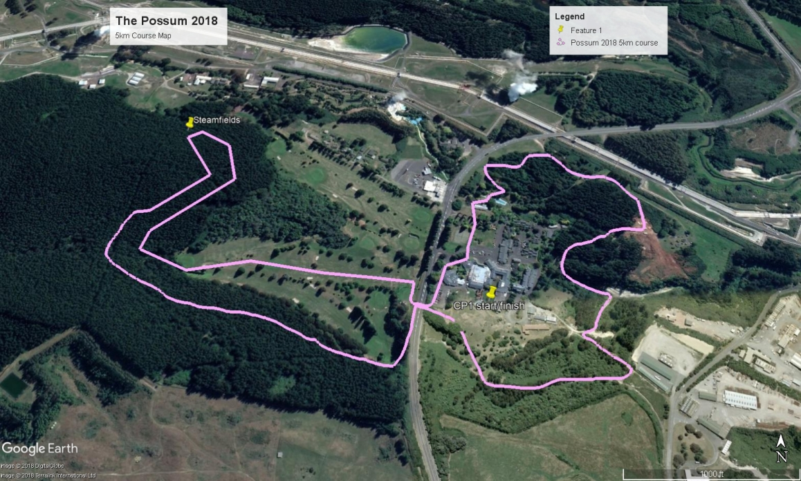 The Possum 2018 5km course map V14 June 18 PUBLIC