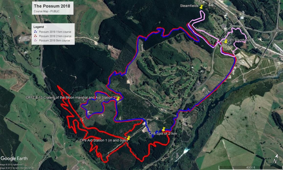 The Possum 2018 course map 14 June 18 PUBLIC